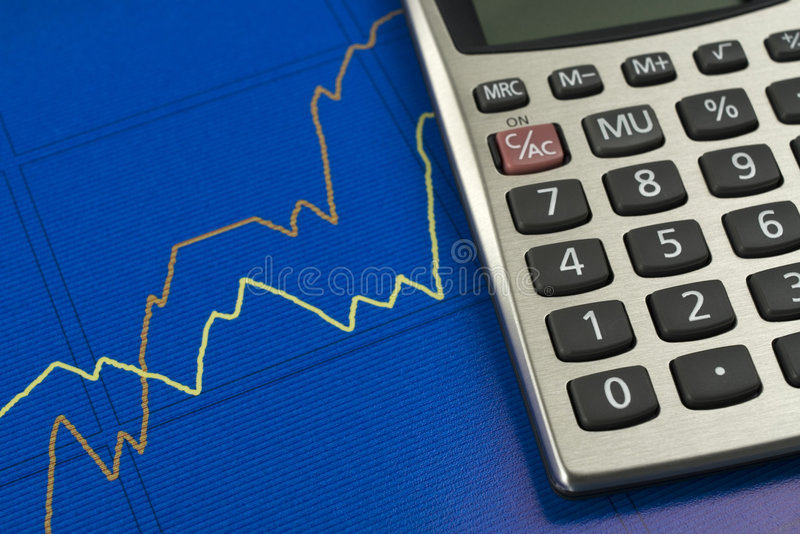 De Groei van Finacial. royalty-vrije stock fotografie