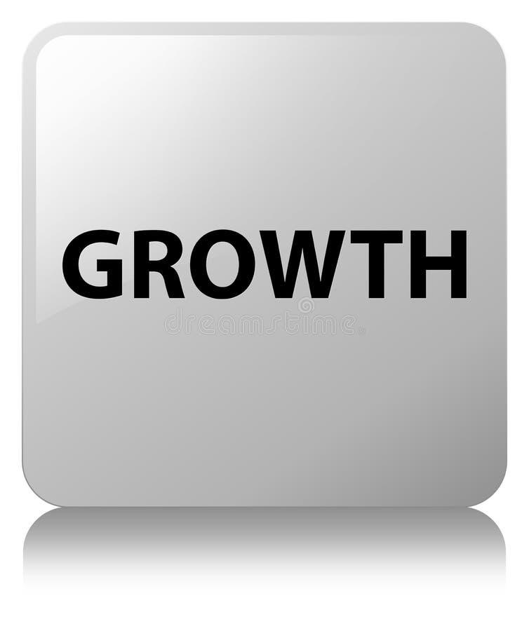 De groei witte vierkante knoop vector illustratie