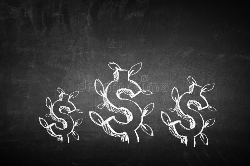 De groeiconcept van het inkomen royalty-vrije stock fotografie