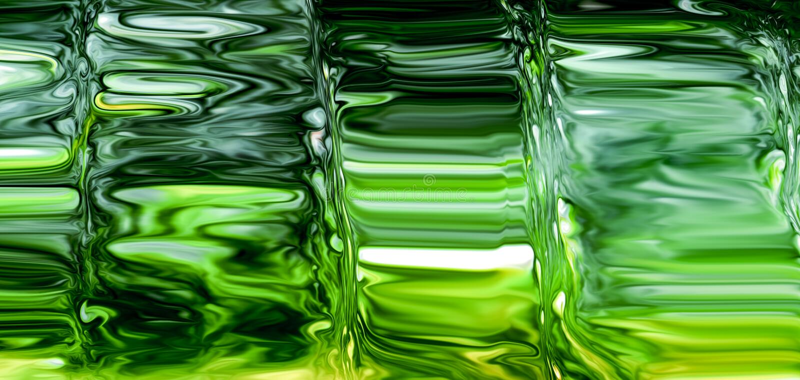 De groene abstracte achtergrond van het glasvolledige scherm royalty-vrije stock foto's
