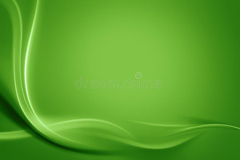 De groene abstracte achtergrond van de lente stock fotografie