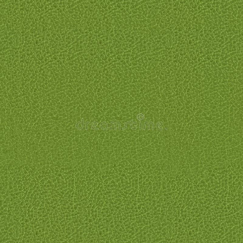 De groene achtergrond van de de dekkings naadloze textuur van het kunstleerboek royalty-vrije stock afbeelding