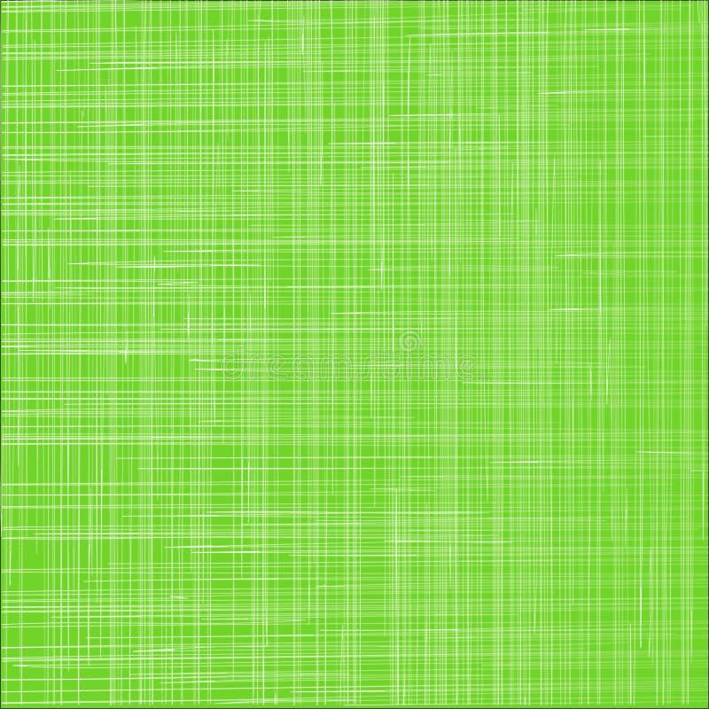 De groene achtergrond van de doektextuur Ecologisch streepbehang Stof royalty-vrije illustratie