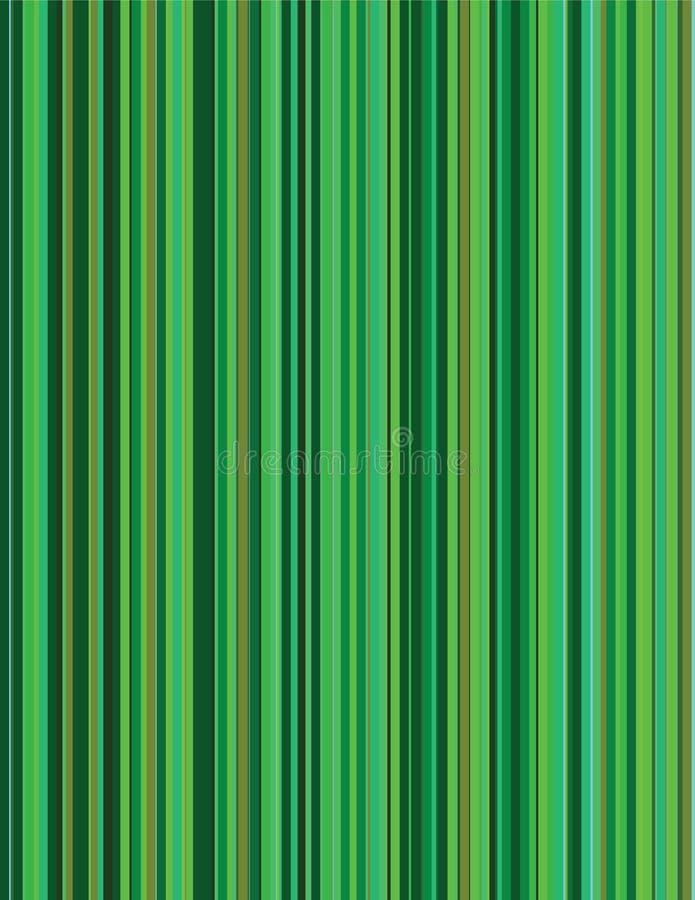 De groene Achtergrond van de Krijtstreep vector illustratie
