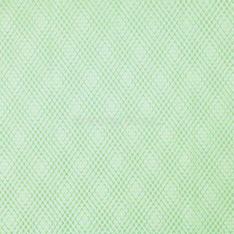 De Groene Achtergrond van de Textuur van het Weefsel van de grill - royalty-vrije stock foto