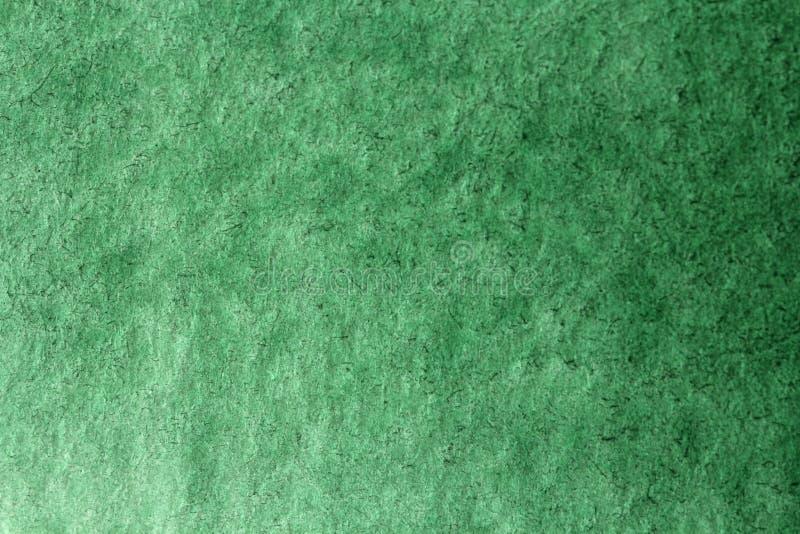 De groene achtergrond van de Gradiëntwaterverf De achtergrond van het document Backgrou stock afbeeldingen