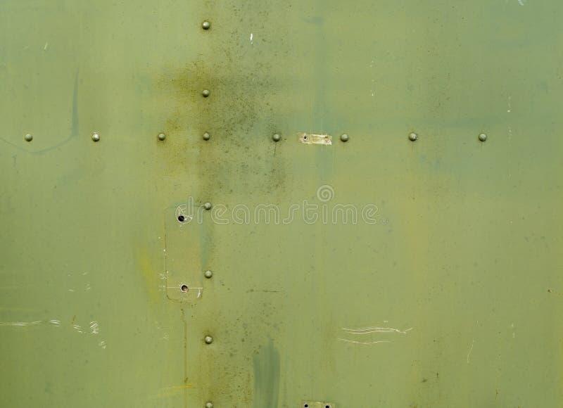 De groene Achtergrond van het Metaal royalty-vrije stock foto