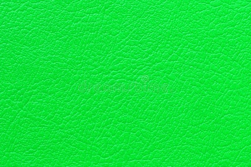 De groene achtergrond van de leertextuur royalty-vrije stock fotografie