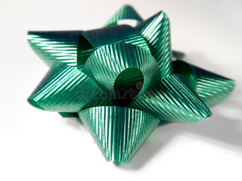 De groene Boog van Kerstmis stock foto's