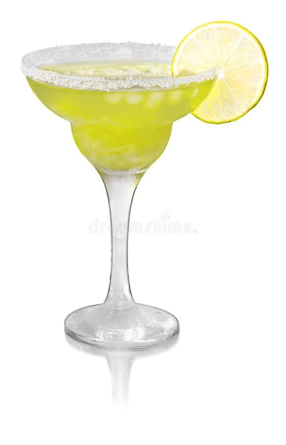 De groene Cocktail met Kalk versiert stock foto's