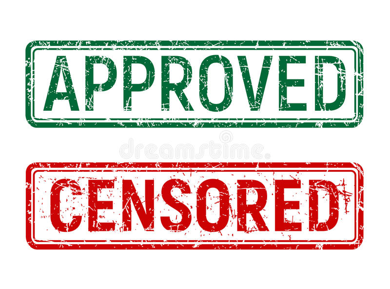 De groene en rode wijnoogst keurde en censureerde zegel met geroteerde goed grungeeffect op geïsoleerde achtergrond royalty-vrije illustratie