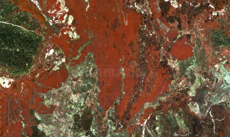 De groene en witte gemengde marmeren textuur van Bourgondi royalty-vrije stock afbeeldingen