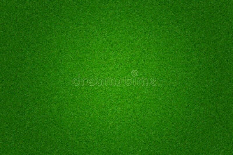 De groene grasvoetbal of achtergrond van het golfgebied vector illustratie