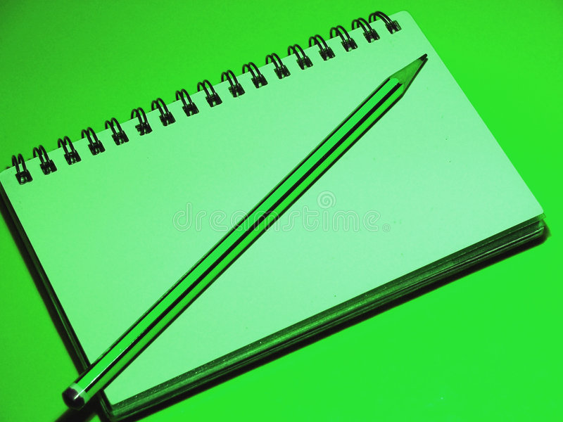 De groene Hulpmiddelen van het Bureau stock afbeelding