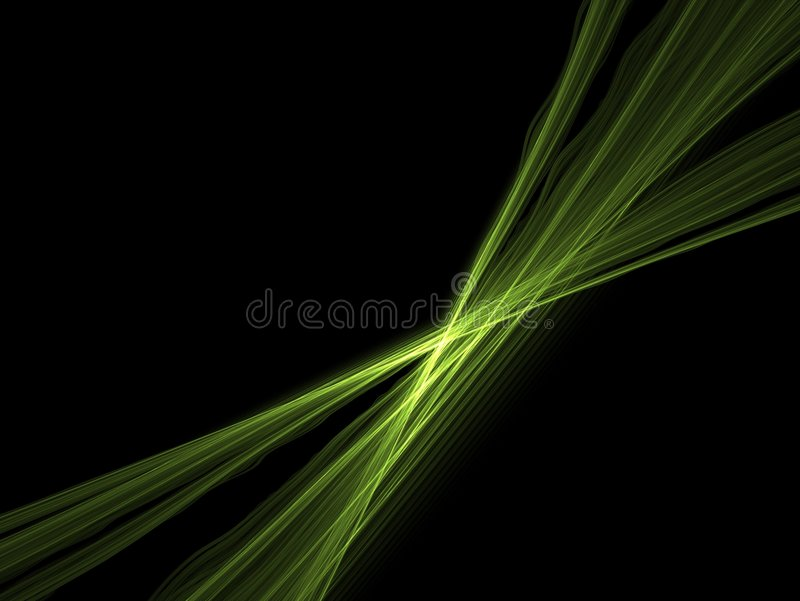 De groene lijn van de energie royalty-vrije illustratie