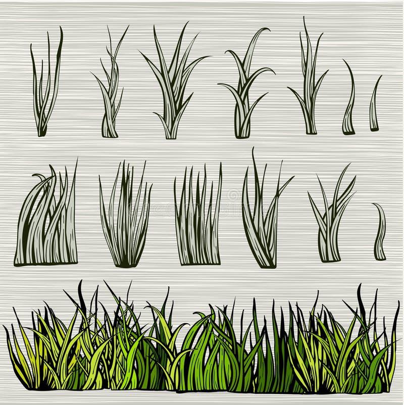 De groene Reeks van het Gras