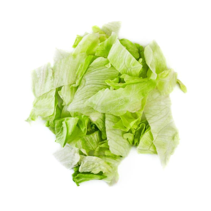 De groene Salade van de Ijsberg royalty-vrije stock foto's