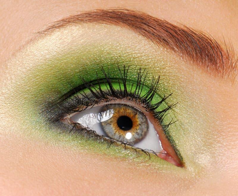 De groene samenstelling van de schoonheid stock afbeeldingen