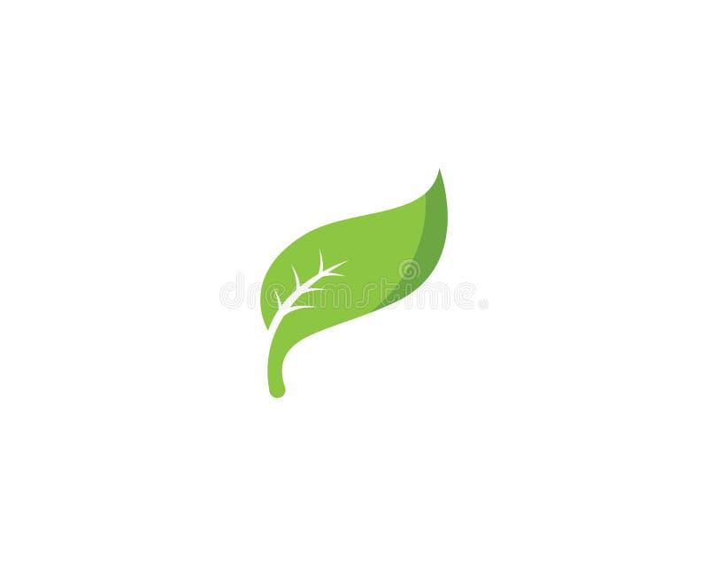 De groene vector van het de aardelement van de bladecologie stock illustratie