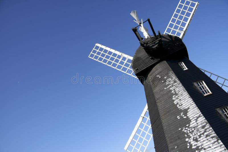De groene windmolen van Lacey stock foto