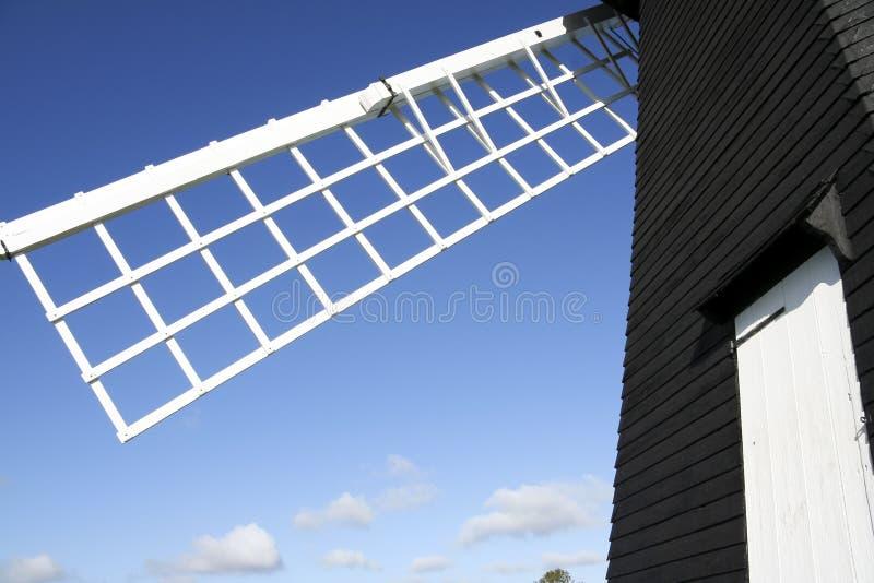 De groene windmolen van Lacey stock fotografie