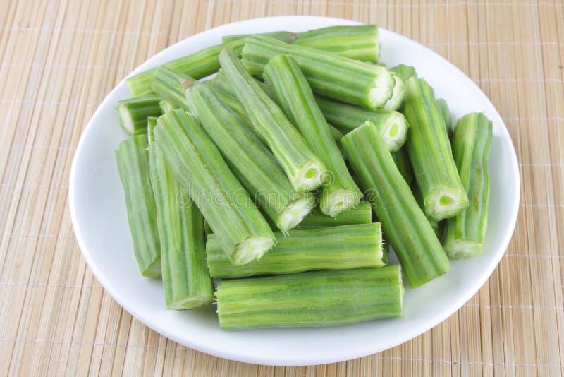 De Groente of Moringa van de trommelstok stock afbeelding