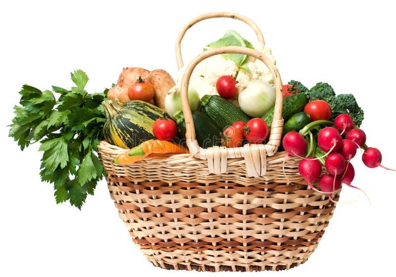 De groenten van de lente stock afbeelding