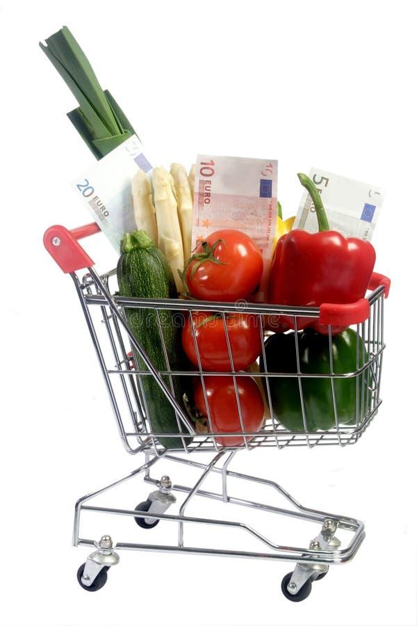 De groenten van Expencive stock afbeeldingen