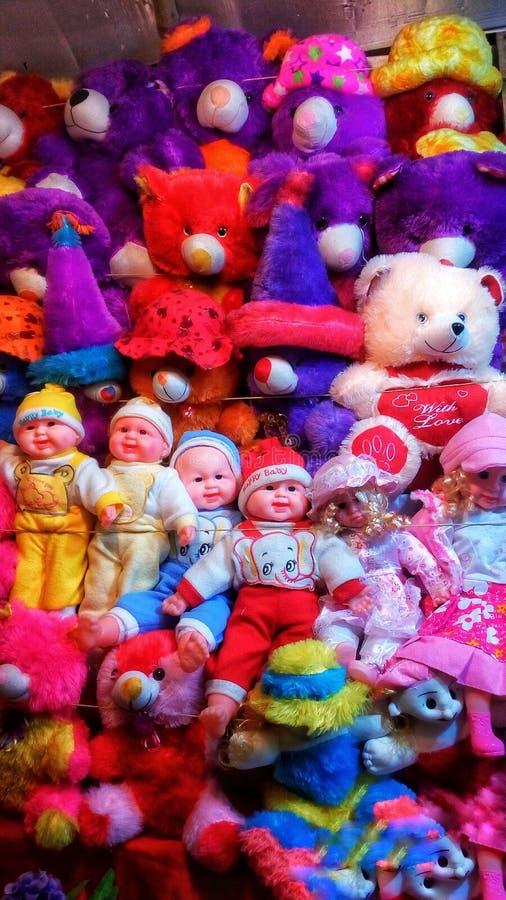 De groep teddyberen royalty-vrije stock afbeeldingen