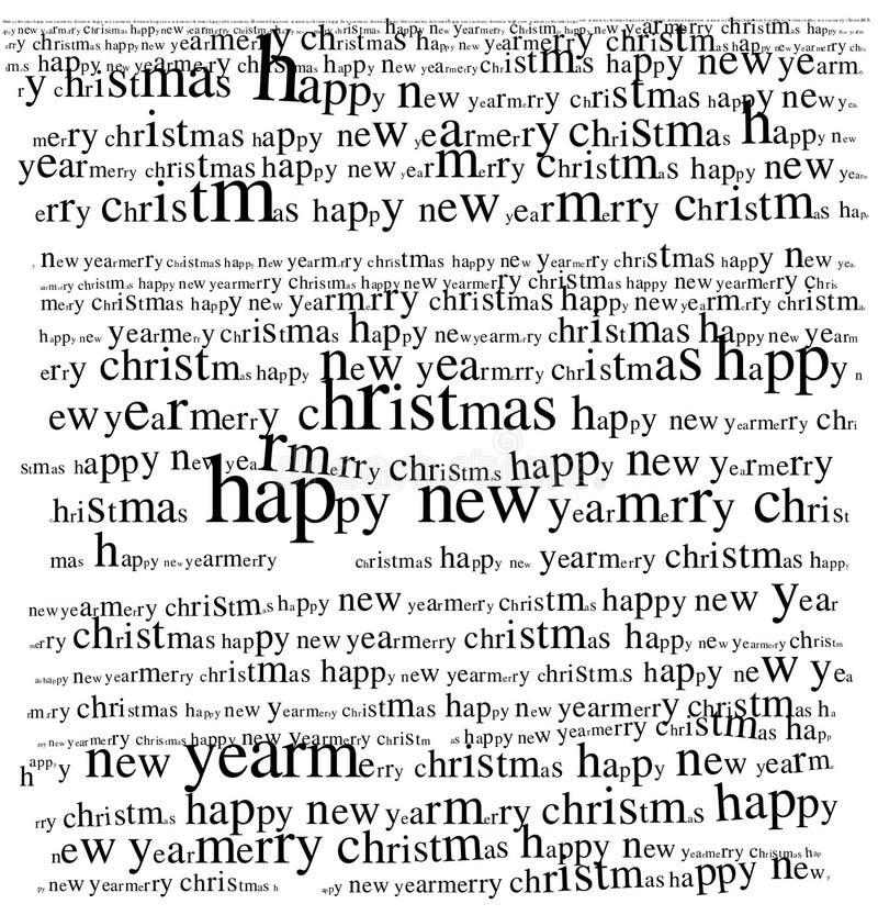 De groet van Kerstmis royalty-vrije illustratie