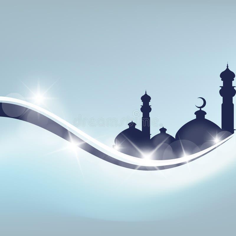 De groetkaart van de Ramadan