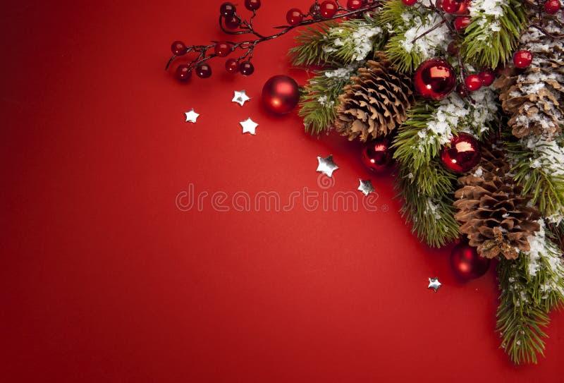 De groetkaart van Kerstmis van de kunst stock foto's