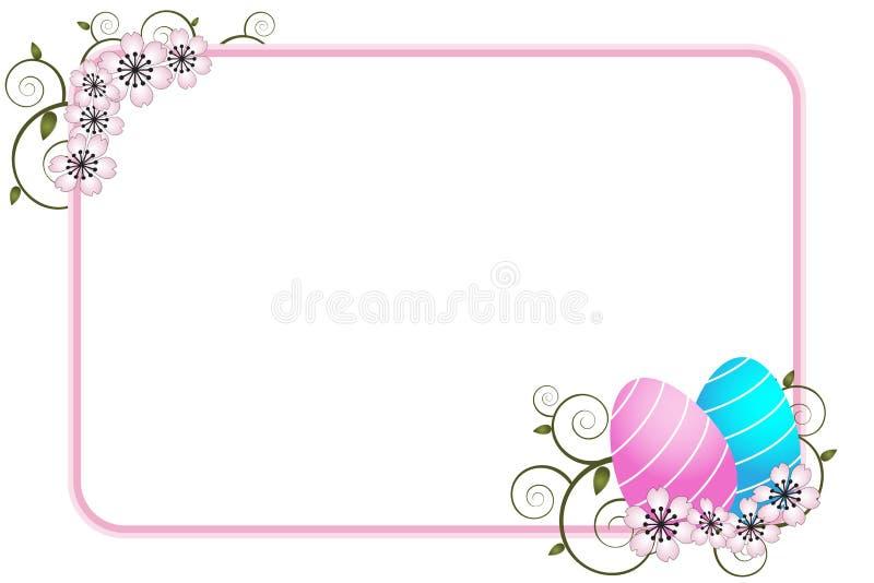 De groetkaart van Pasen - vector stock illustratie