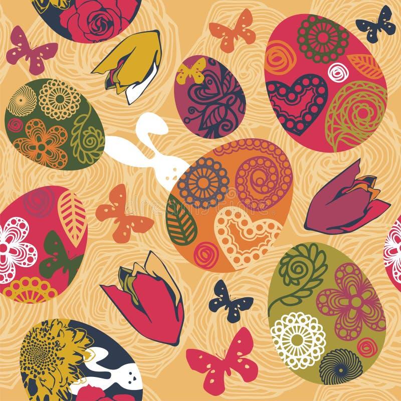 Download De groettextuur van Pasen vector illustratie. Illustratie bestaande uit kleurrijk - 29501226