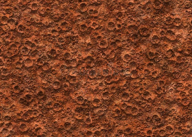 De grond van brengt de oppervlakte van de kratertextuur in de war royalty-vrije stock afbeeldingen
