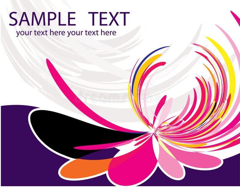 Download De grond van de bloem vector illustratie. Illustratie bestaande uit textuur - 10778997