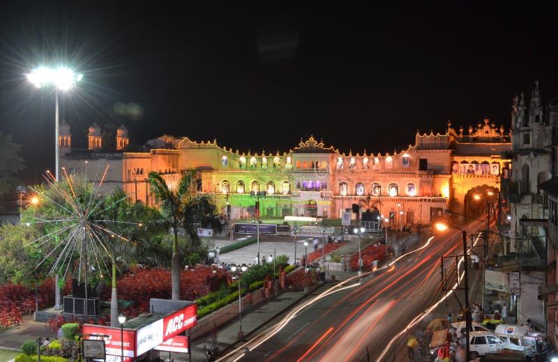 De grond van Moti Mahal en Iqbal-, Bhopal royalty-vrije stock afbeeldingen