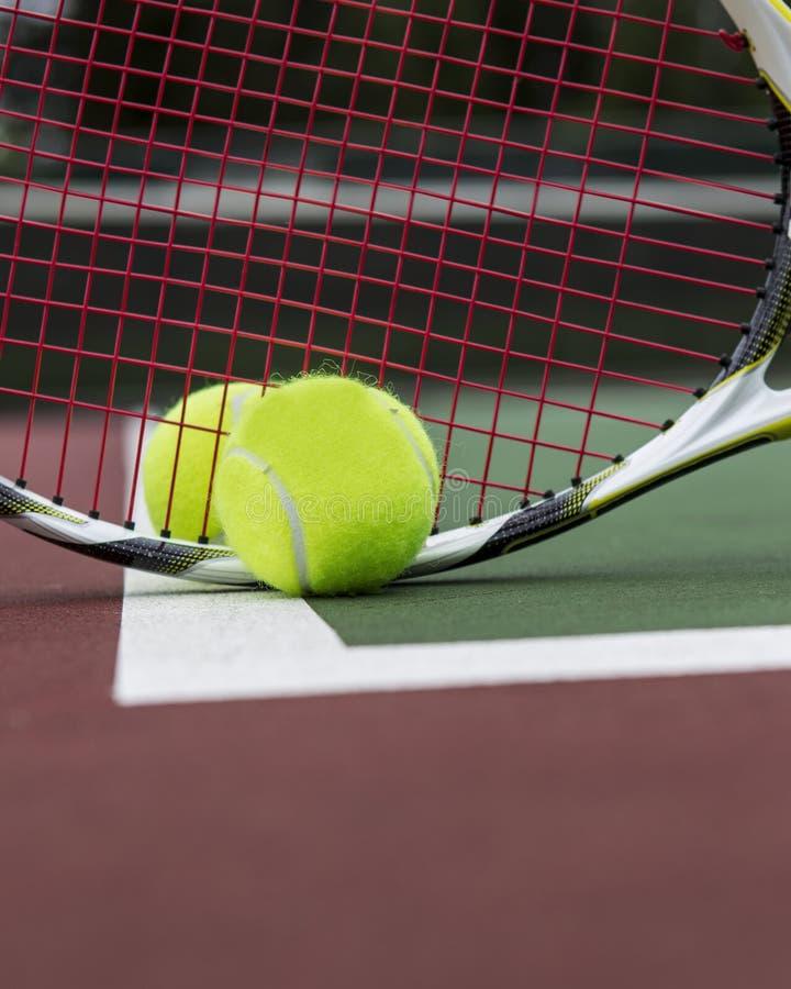 De Grondbeginselen van het tennis royalty-vrije stock foto