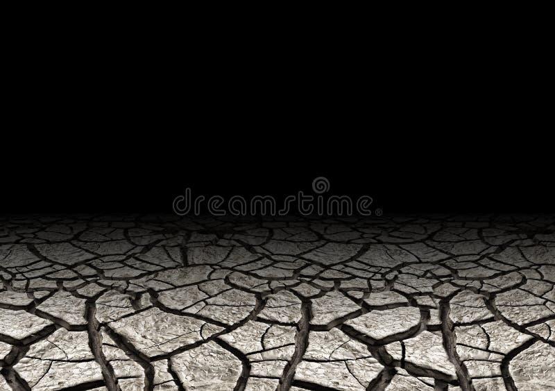 De gronddroogte barstte en droogt Natuurlijke achtergrond en textuur stock afbeeldingen