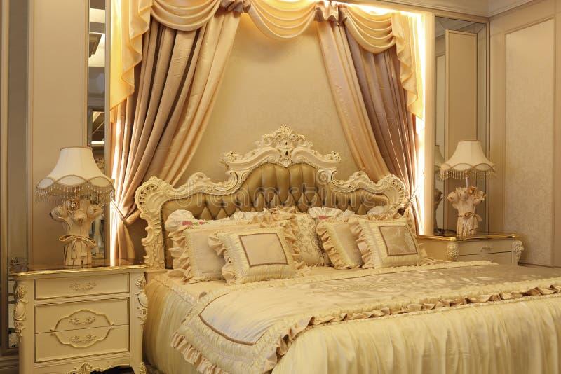 De grootsheid van de slaapkamer royalty-vrije stock fotografie