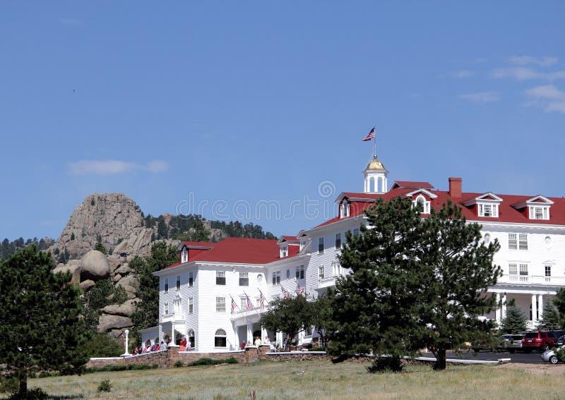 De Grootsheid van Stanley Hotel royalty-vrije stock foto