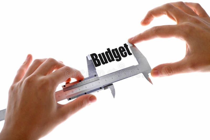 De grootte van onze begroting royalty-vrije stock fotografie