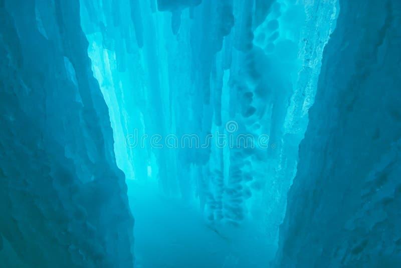 De grot van het ijs royalty-vrije stock foto