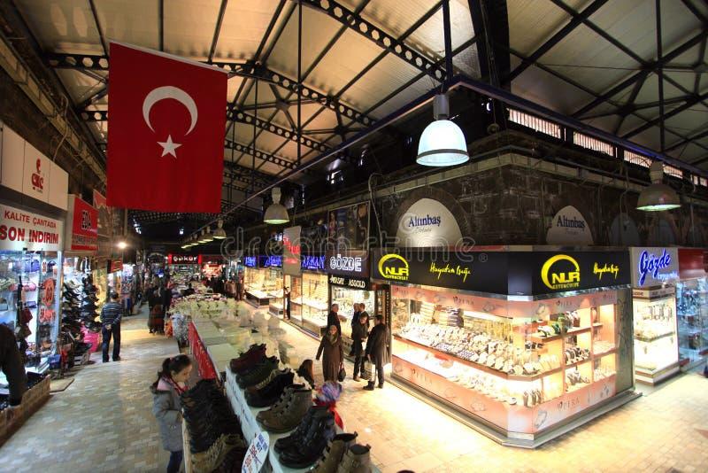 De Grote Bazaar van slijmbeurs stock foto