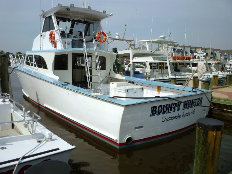 De grote Boot van de Charter royalty-vrije stock foto's