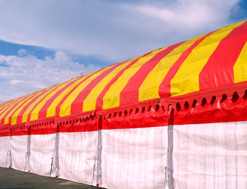 De grote Bouw van de Tent royalty-vrije stock foto's