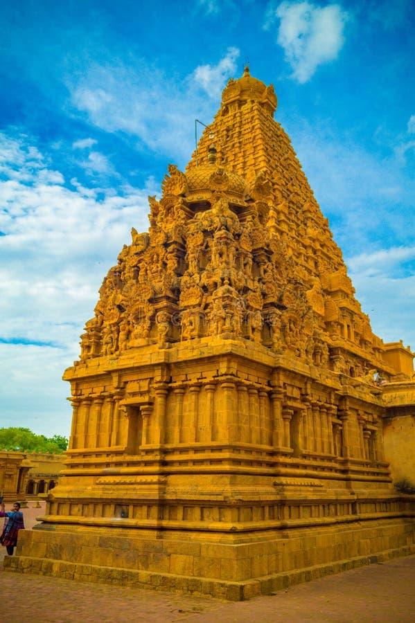 De Grote Brihadeeswara-Tempel van Tanjore royalty-vrije stock afbeeldingen