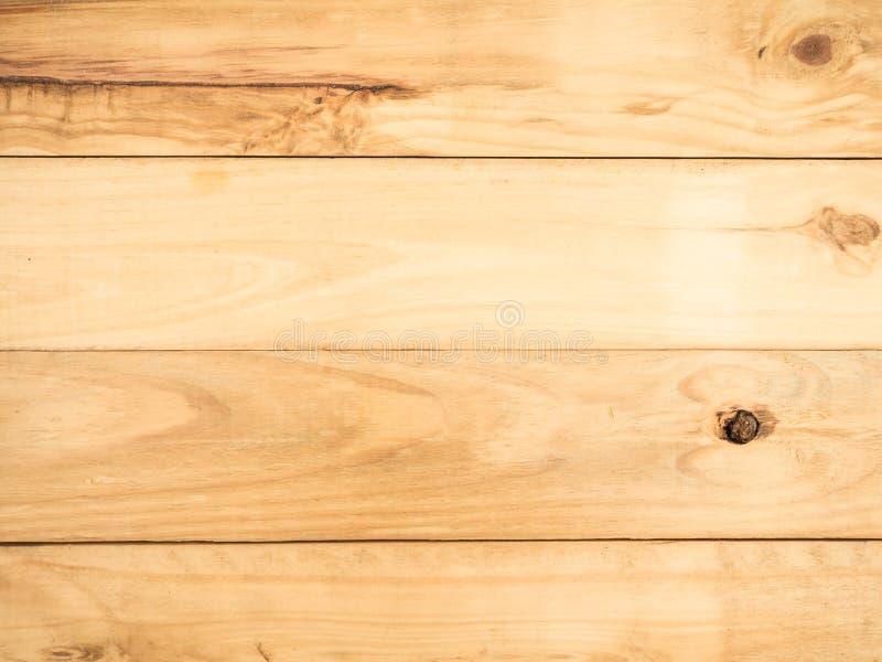 De grote Bruine houten textuur en de achtergrond van de plankmuur stock foto's