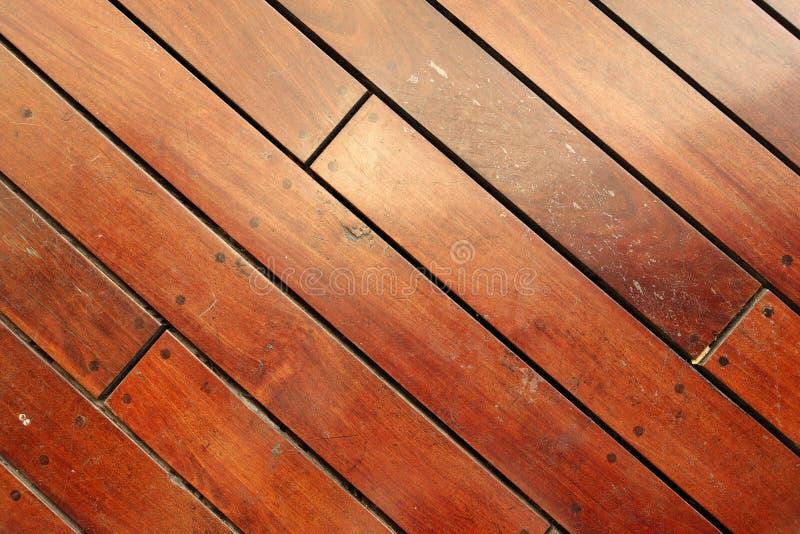 De grote Bruine houten textuur van de plankmuur royalty-vrije stock foto's