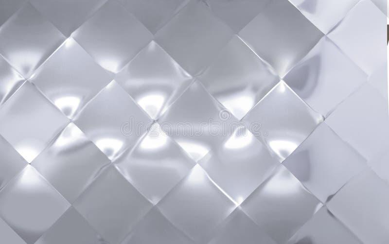 De grote Diamant shapped metaalplaat vector illustratie